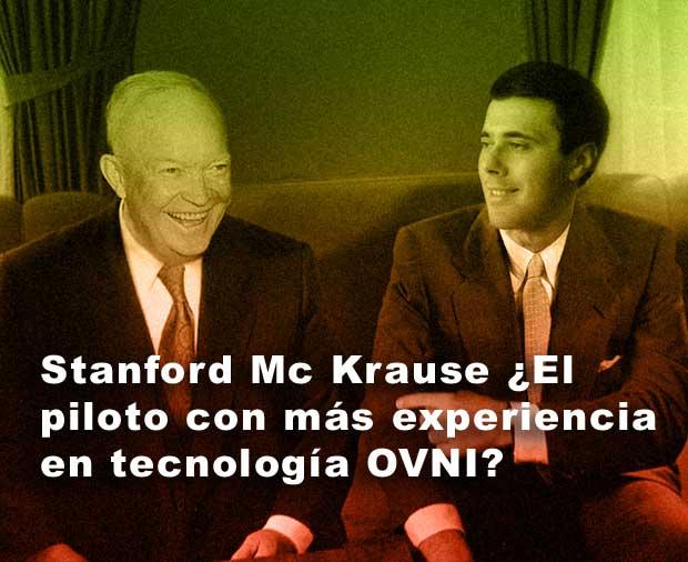 Stanford Mc Krause tenía gran experiencia en tecnología OVNI